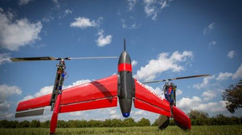 Il drone Mark II di Heurobotics