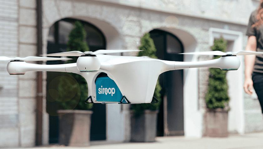 Trasporto di merci con droni in Svizzera