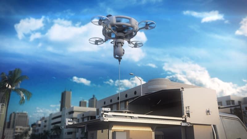 Il drone Aquila 100 per la protezione di Papa Francesco