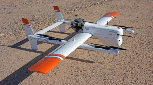 Drone medico che trasporta sangue