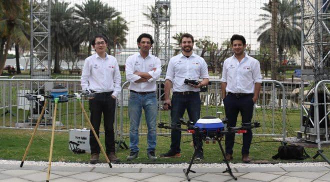 Il drone che disattiva mine antiuomo,