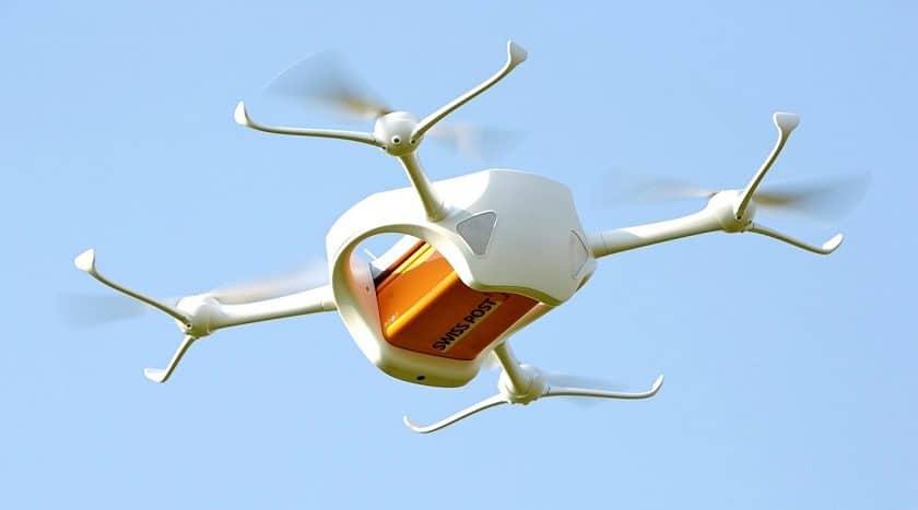 Droni medici voleranno in Svizzera nel 2018