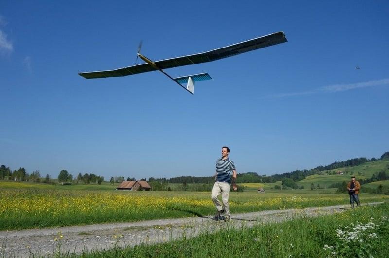 Drone ad energia solare AtlantikSolar, drone ad energia solare,