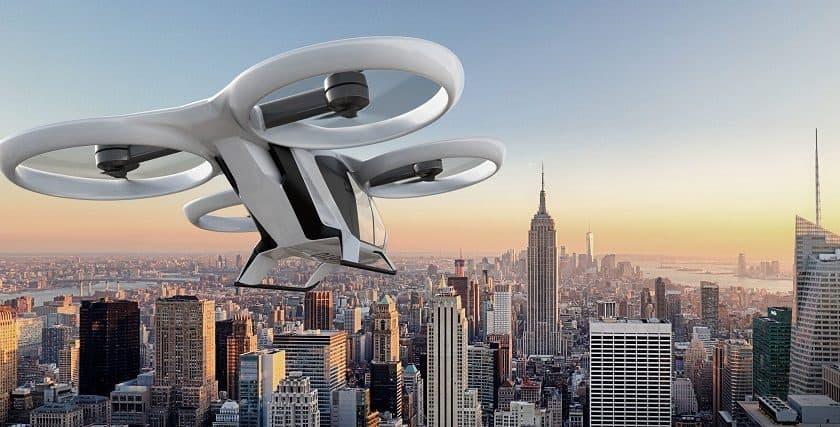 Il drone per il trasporto di persone di Airbus