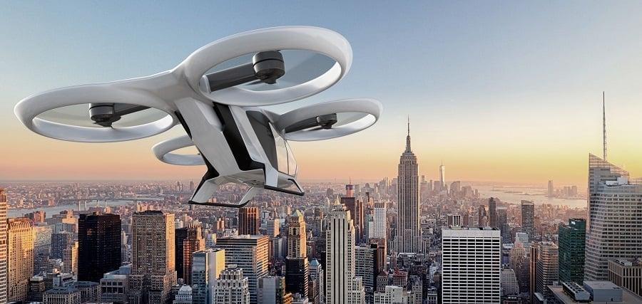 drone per il trasporto di persone di Airbus, drone per il trasporto di persone,