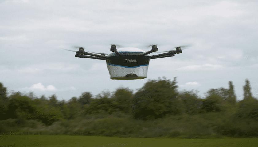 Il drone per le consegne urgenti