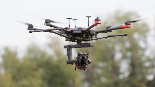 Drone per fotogrammetria e rilievo topografico