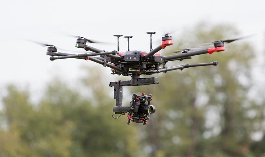 Drone per fotogrammetria e rilievo topografico, Drone per fotogrammetria,