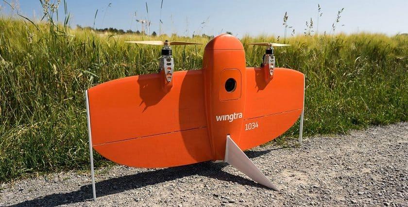 Drone per mappature territoriali WingtraOne
