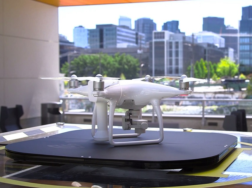 Ricarica Wireless per droni