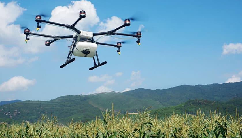Droni per la cura del verde urbano