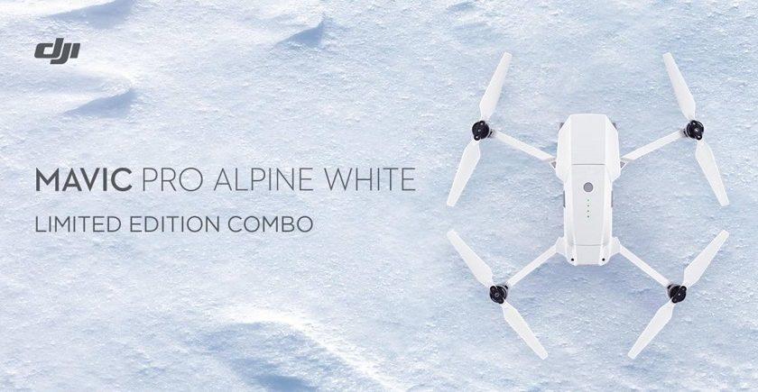 Nuovo Dji Mavic Pro Alpine White
