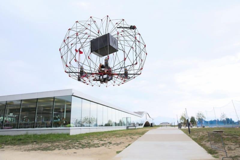 Drone stampato in 3D per la consegna di pacchi
