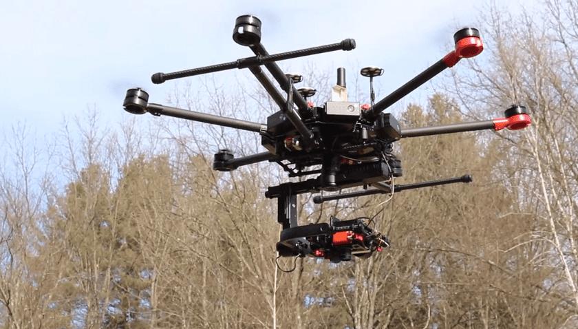 Droni per il monitoraggio della Barriera Corallina