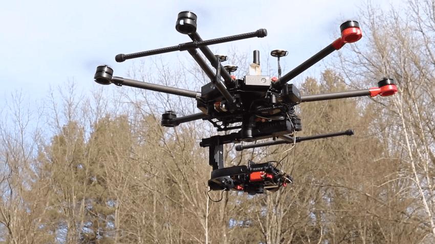 Droni per il monitoraggio