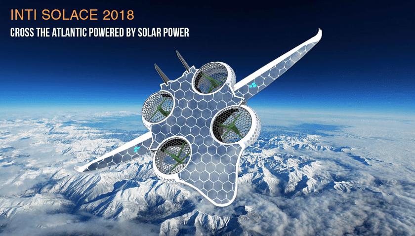 Drone da trasporto ad energia solare