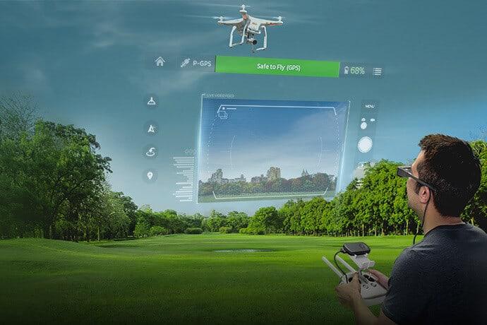 Nuovo simulatore di volo per droni Dji