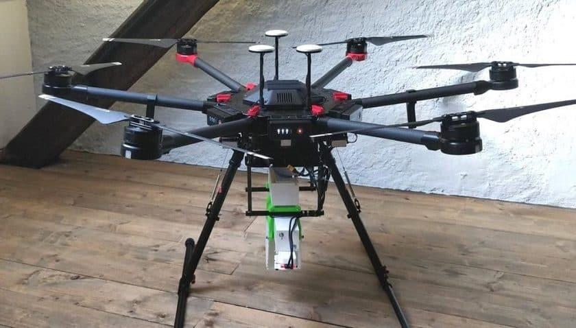 Drone contro le Zanzare infette