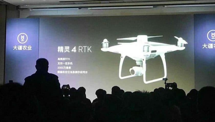 Nuovo Drone Dji Phantom 4 Pro RTK