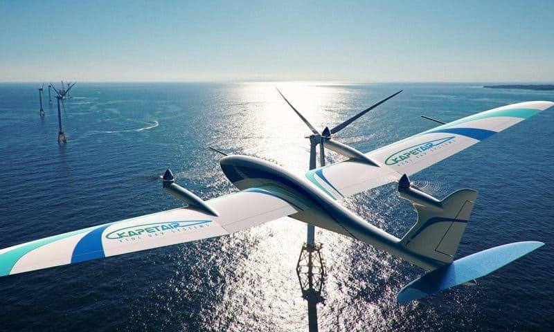 Il nuovo drone KapetAir a decollo verticale