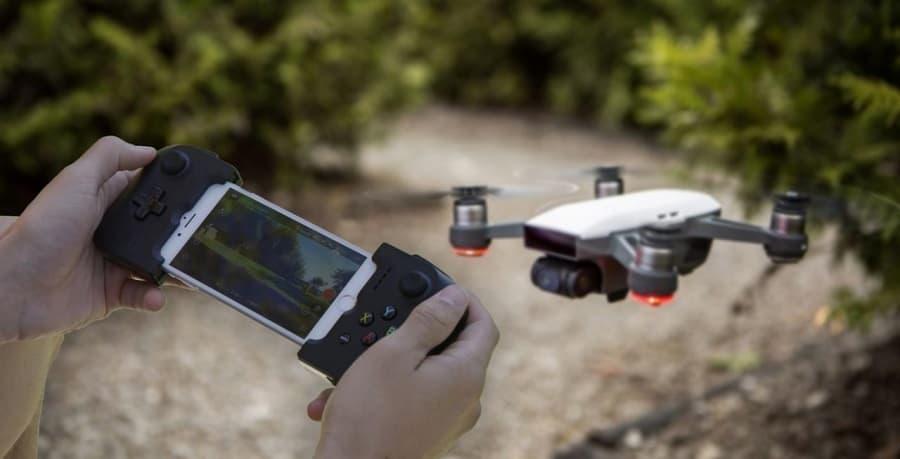Pilotare il drone Dji Spark con un Gamepad