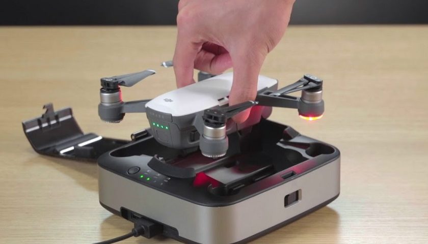 Stazione di ricarica portatile per il drone Dji Spark