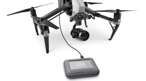 Hard Disk per droni Dji al CES 2018