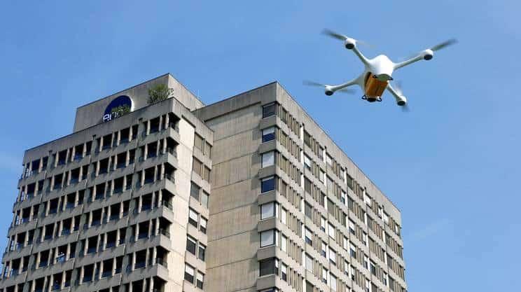 I droni dell'ospedale di Lugano