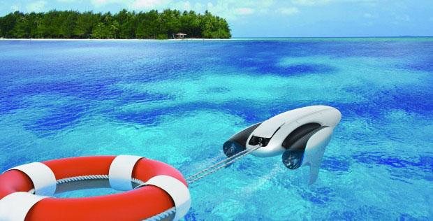 Il drone subacqueo Powerdolphin