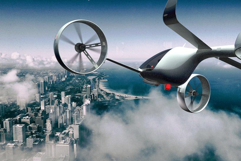 Droni per il trasporto di persone a Londra