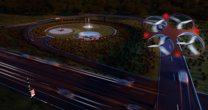 Droni per la sicurezza delle autostrade