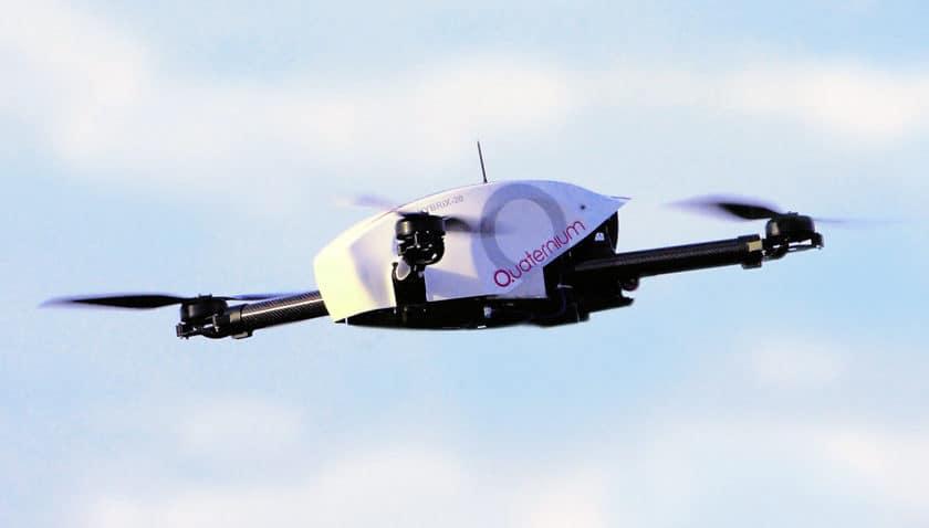 Drone Quaternium Hybrix 20 che ha volato quasi 5 ore