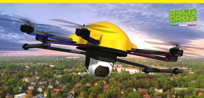 Roma Drone Campus 2018 presenta le torpedini aeree