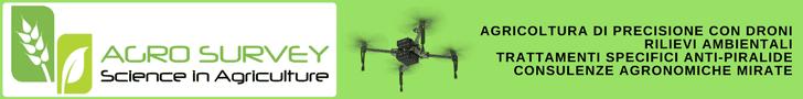 Rilievi con droni agricoli