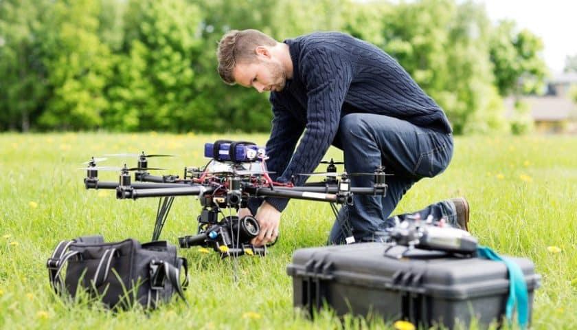 Corsi professionali per piloti di droni