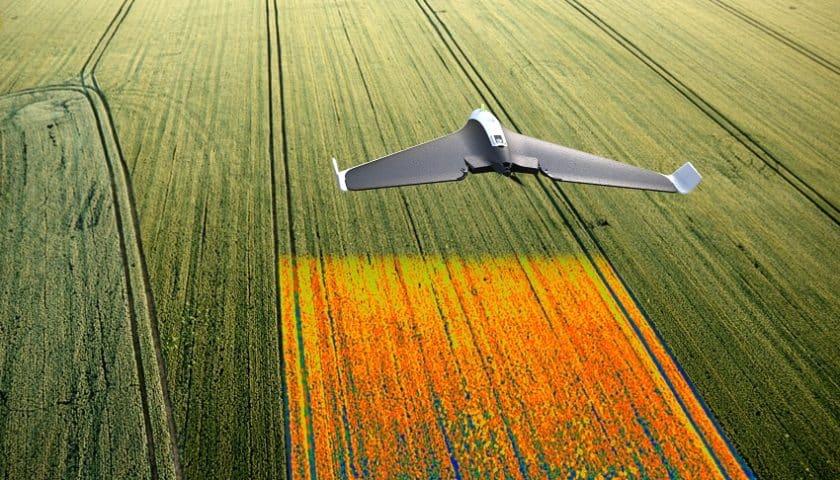 Droni in agricoltura per migliorare la produttività