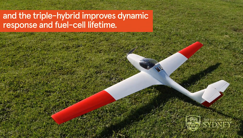 Drone a idrogeno dell'Università di Sydney
