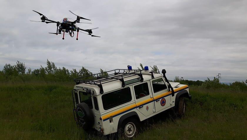 Droni per la Protezione Civile in Sardegna