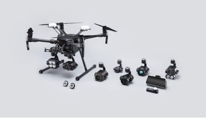 Gimbal Dji Zenmuse XT2 a doppia ottica per droni