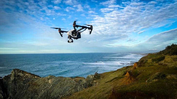 Drone per la prevenzione di catastrofi ambientali