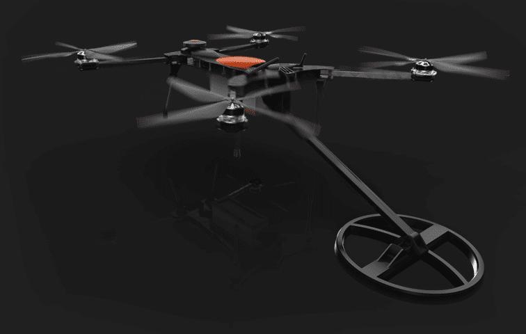 Drone con Metal Detector su Kickstarter