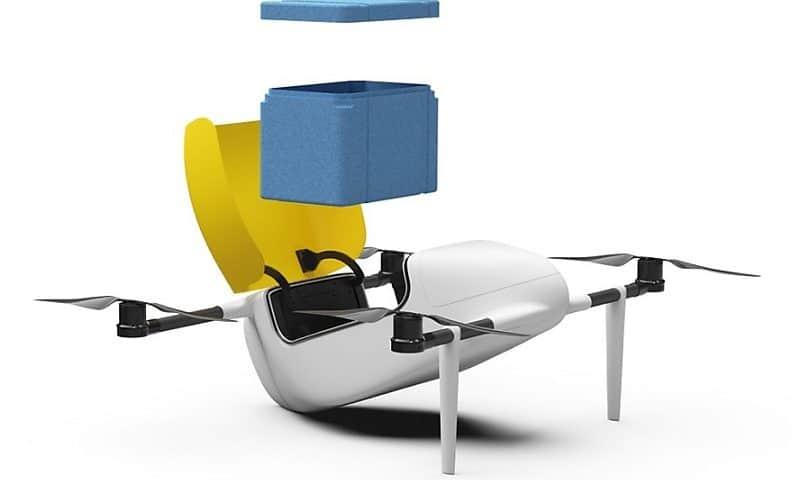 Deldro il drone svizzero per trasporto merci