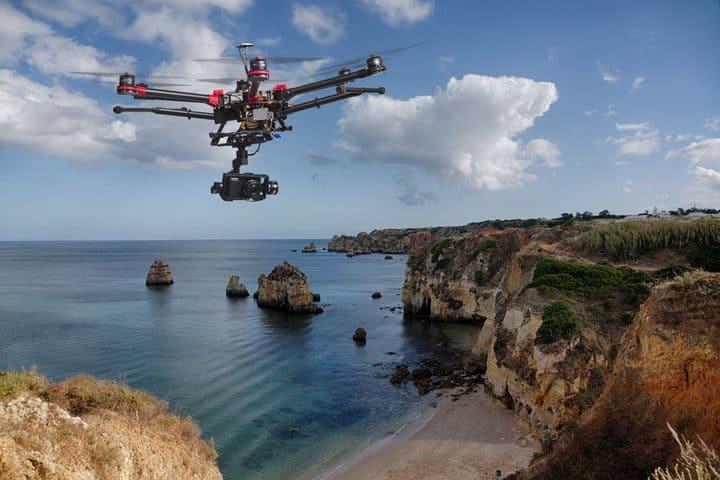 Droni per la tutela delle Cinque Terre in Liguria