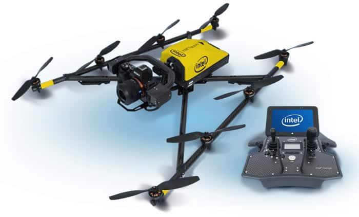 Droni Intel e l'innovativo sistema di gestione