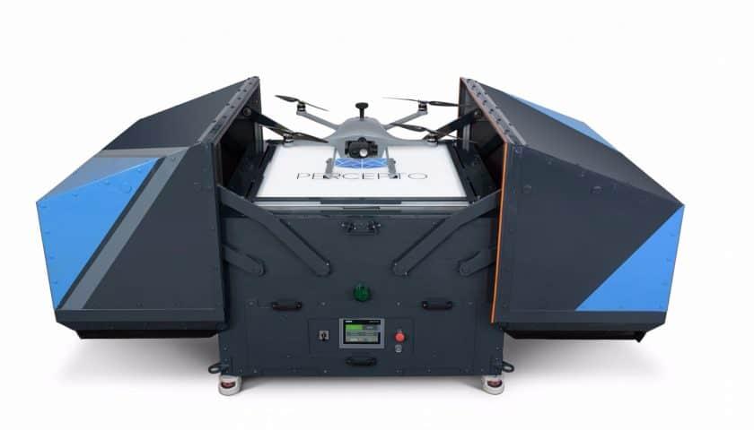 Droni per monitoraggio centrale Enel di Civitavecchia