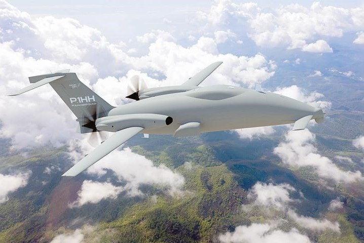 Droni Piaggio P2HH all'Aeronautica Militare