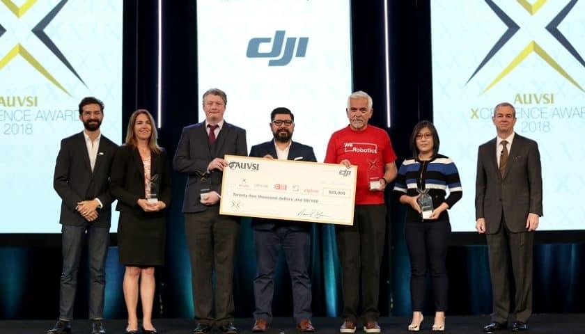 Premio AUVSI XCELLENCE per droni umanitari