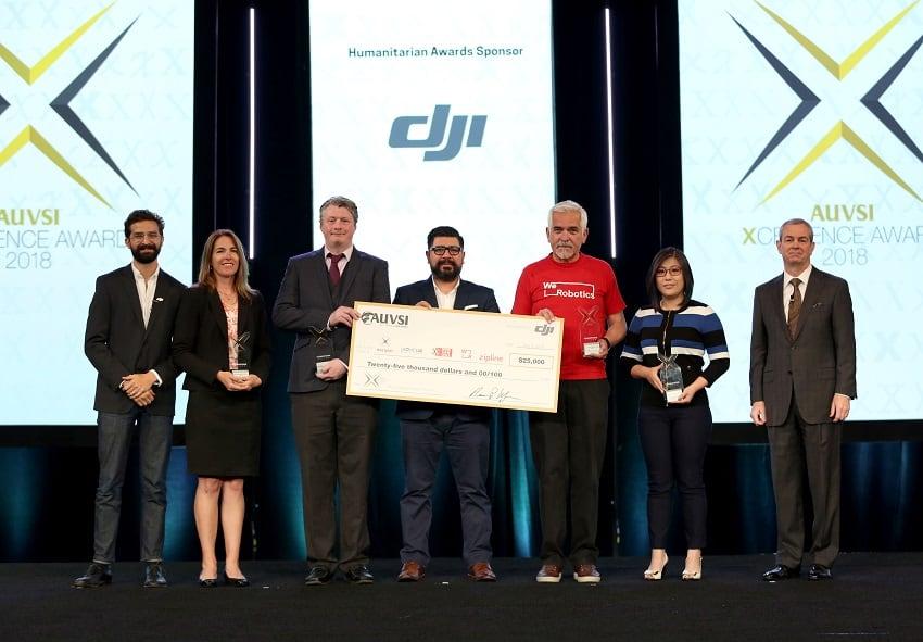 Premio AUVSI XCELLENCE per droni umanitari, droni umanitari,