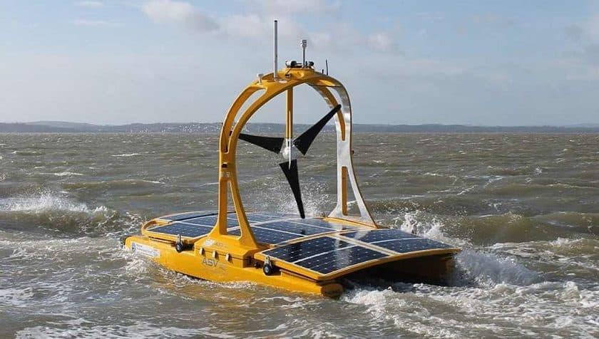 Navi Drone del comitato per la sicurezza marittima