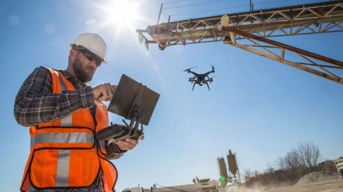 Pianificazione missione fotogrammetrica da drone